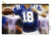 Peyton Manning Carry-all Pouch by Paul Ward