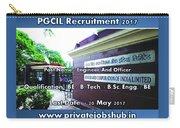 Pgcil Recruitment Carry-all Pouch
