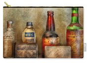 Pharmacist - On A Pharmacists Counter Carry-all Pouch by Mike Savad