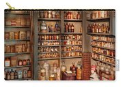 Pharmacy - Get Me That Bottle On The Second Shelf Carry-all Pouch by Mike Savad
