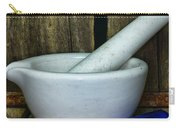 Pharmacy - Mortar And Pestle - Square Carry-all Pouch