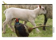 Pheasant And Lamb Carry-all Pouch