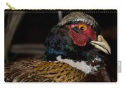 Pheasant In The Eye Carry-all Pouch