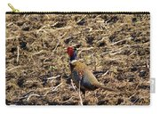 Pheasant On The Move Carry-all Pouch