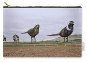 Pheasants On The Prairie Carry-all Pouch