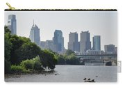 Philadelphia Along The Schuylkill River Carry-all Pouch