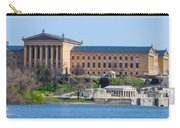 Philadelphia Art Museum And Waterworks Panorama Carry-all Pouch