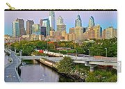 Philadelphia At Dusk Carry-all Pouch