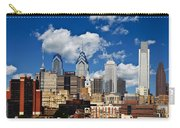 Philadelphia Blue Skies Carry-all Pouch by Bill Cannon