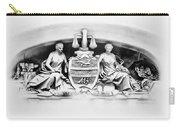 Philadelphia City Hall Fresco Carry-all Pouch