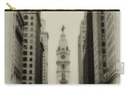 Philadelphia City Hall From South Broad Street Carry-all Pouch