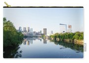 Philadelphia Cityscape Along The Schuylkill River Carry-all Pouch