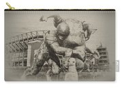Philadelphia Eagles At The Linc Carry-all Pouch by Bill Cannon