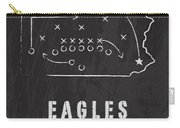 Philadelphia Eagles Art - Nfl Football Wall Print Country Carry-all Pouch by Damon Gray