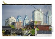 Philadelphia From Penns Landing Carry-all Pouch
