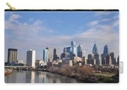 Philadelphia From The South Street Bridge Carry-all Pouch by Bill Cannon