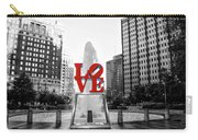 Philadelphia - Love Statue - Slective Coloring Carry-all Pouch