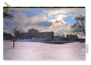 Philadelphia Museum Of Art At Winter Sunrise Carry-all Pouch