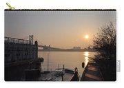 Philadelphia - Penn's Landing Sunrise Carry-all Pouch