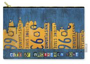 Philadelphia Pennsylvania Skyline License Plate Art Edition 2016 Carry-all Pouch