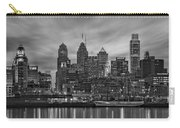 Philadelphia Skyline Bw Carry-all Pouch