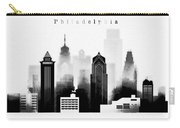 Philadelphia Skyline Graphic Work Carry-all Pouch