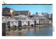 Philadelphia Waterworks And Art Museum Panorama Carry-all Pouch
