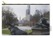 Philadelphia's Benjamin Franklin Parkway Carry-all Pouch