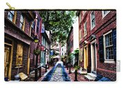 Philadelphia's Elfreth's Alley Carry-all Pouch
