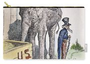 Philippiines Cartoon, 1898 Carry-all Pouch