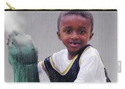 Philly Fountain Kid Carry-all Pouch by Brian Wallace