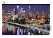 Philly In Panoramic View Carry-all Pouch
