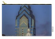 Philly Skyline-old And New Carry-all Pouch