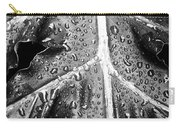 Philodendron Rain - Bw Carry-all Pouch