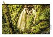 Philosopher Falls, Western Tasmania Carry-all Pouch