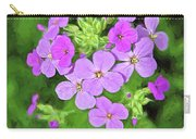 Phlox For You Carry-all Pouch