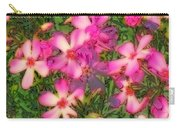 Phlox Fun - Pink Glow Carry-all Pouch