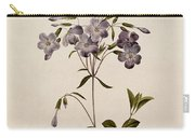 Phlox Reptans Carry-all Pouch by Pierre Joseph Redoute