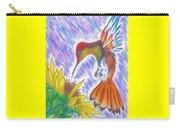 Phoenix Fire Hummingbird Carry-all Pouch