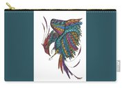 Phoenix Landing Carry-all Pouch by Barbara McConoughey