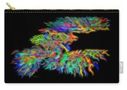 Phoenix Rising Electric Fractal Carry-all Pouch
