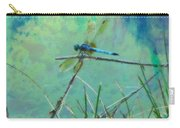 Photo Painted Dragonfly Carry-all Pouch
