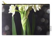 Photograph Of Narcissus Erlicheer A White Flower Carry-all Pouch