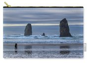 Photographer At Cannon Beach Carry-all Pouch