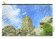 Photographer At Moorish Fortress Carry-all Pouch