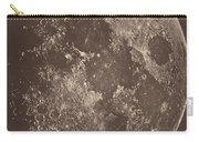 Photographie De La Lune A Son 1er Quartier Carry-all Pouch