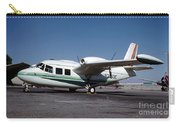 Piaggio P.166 On The Tarmac Carry-all Pouch