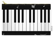Piano And Music Background Carry-all Pouch