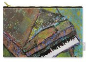Piano Aqua Wall Carry-all Pouch
