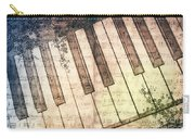Piano Days Carry-all Pouch by Jutta Maria Pusl